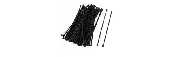 Kabelbinder Farbe: schwarz