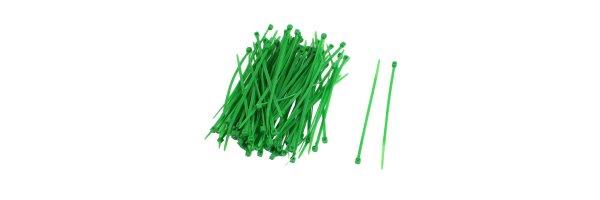Kabelbinder Farbe: Grün