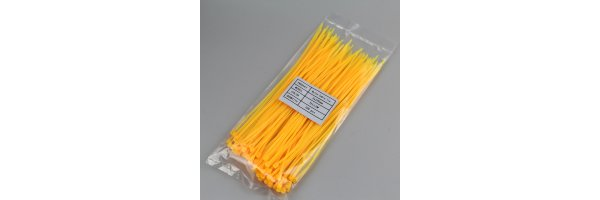 Kabelbinder Farbe: Gelb