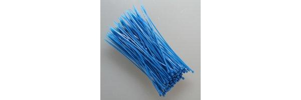 Kabelbinder Farbe: Blau