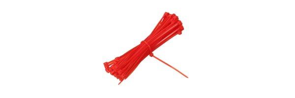 Kabelbinder Farbe: Rot