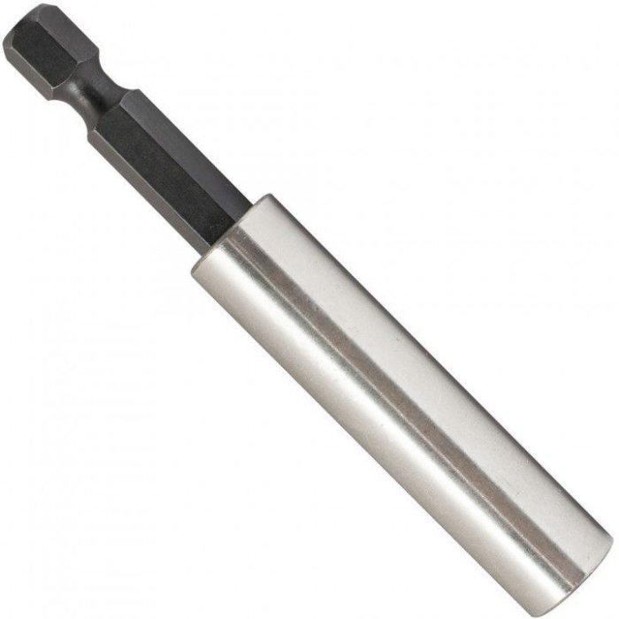 Magnet Bithalter 60mm lang ¼ Bitaufnahme Bit magnetisch CRV Schraubvorsatz