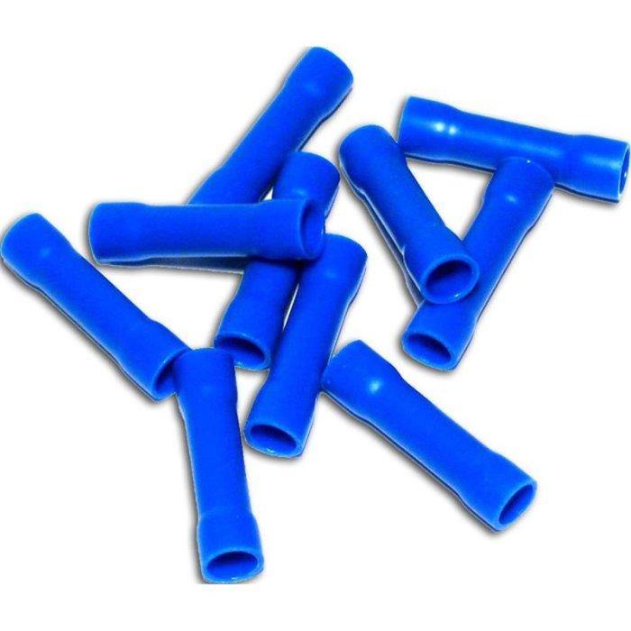 Stoßverbinder isoliert 1,5-2,5mm² blau