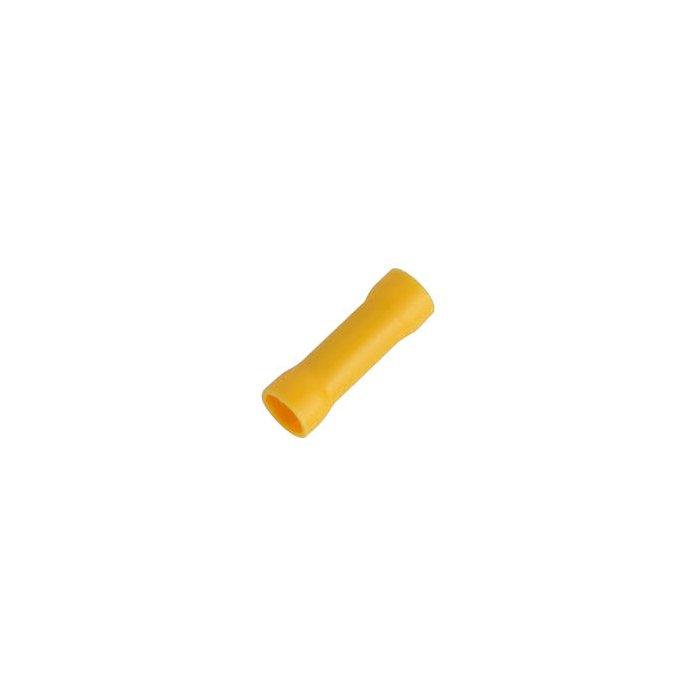 Stoßverbinder isoliert 4-6mm² gelb
