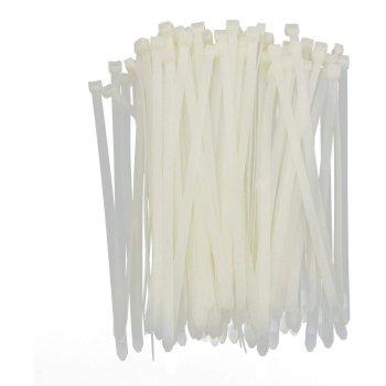 Kabelbinder 3,6x200mm VPE 100 Stück Weiß