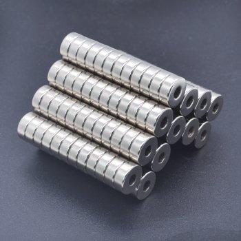 8x3-3 mm Neodym Magnet N35, vernickelt