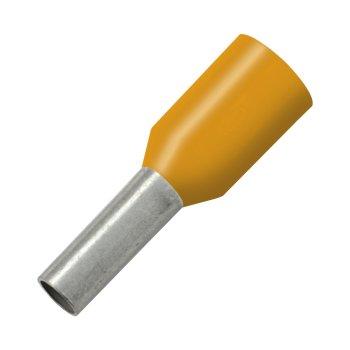 Aderendhülsen 0,5mm² orange VPE 100 Stück