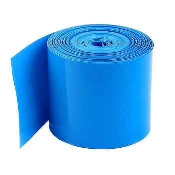 """1 Meter Schrumpfschlauch 2:1 3/16"""" 5mm zu 2,5mm blau"""
