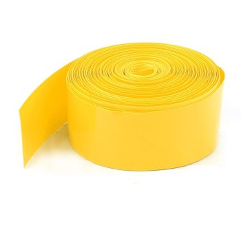 """1 Meter Schrumpfschlauch 2:1 5/16"""" 8mm zu 4mm gelb"""