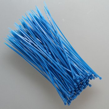 Kabelbinder 2,5x100mm VPE 100 Stück Blau