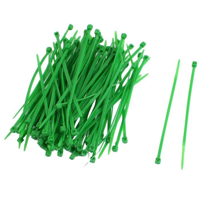 Kabelbinder 2,5x100mm VPE 100 Stück Grün