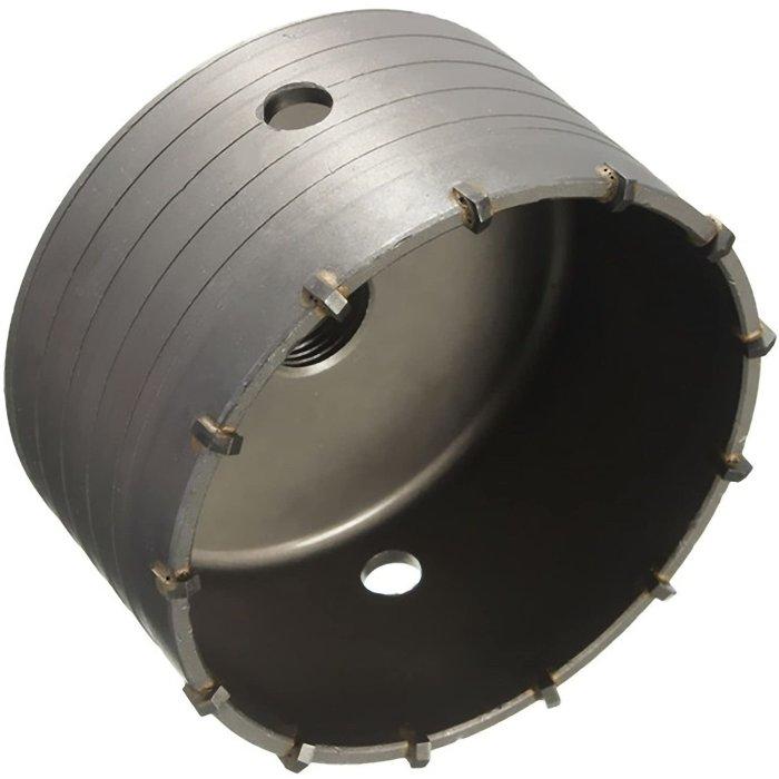 Bohrkrone Dosenbohrer SDS Plus 30-160 mm Durchmesser komplett für Bohrhammer 60 mm (7 Schneiden) ohne Verlängerung