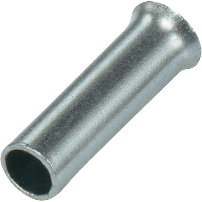 Aderendhülsen unisoliert 10mm² VPE 50 Stück
