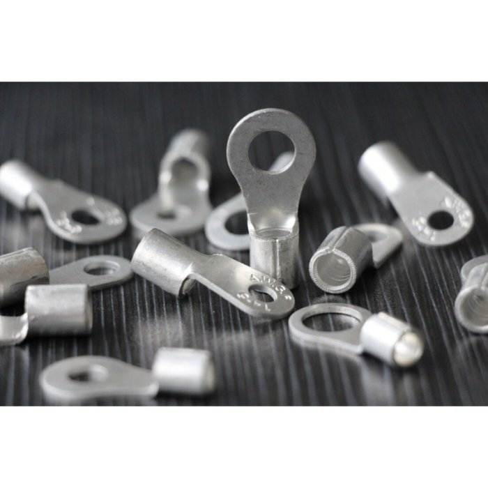 Ringkabelschuh blank unisoliert 2,5-95mm² M6-M12 2,5-4 mm² M6