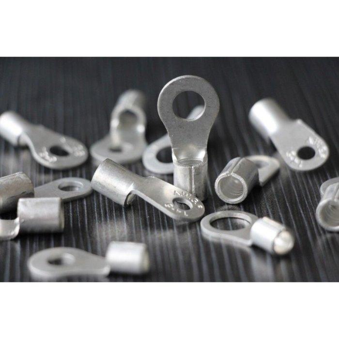 Ringkabelschuh blank unisoliert 2,5-95mm² M6-M12 2,5-4 mm² M8