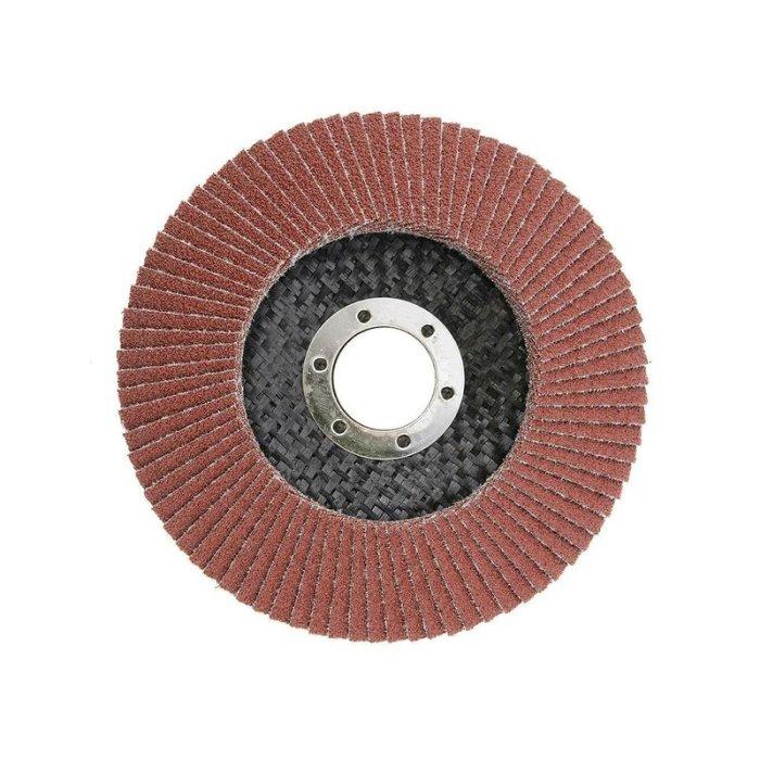Fächerschleifscheiben 115 / 125mm P40-P120 115 mm P60