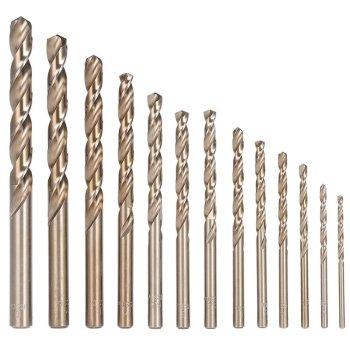 HSS Kobaltbohrer 1-13mm Metallbohrer Co5 DIN 338 1 mm 10...