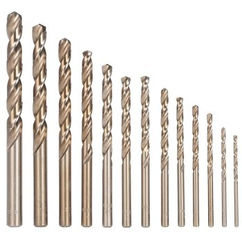 HSS Kobaltbohrer 1-13mm Metallbohrer Co5 DIN 338 2,5 mm...