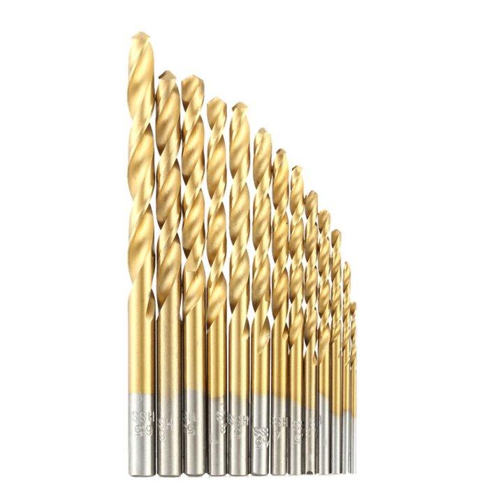 HSS TiN Metallbohrer 1-13mm 9 mm 1 Stück