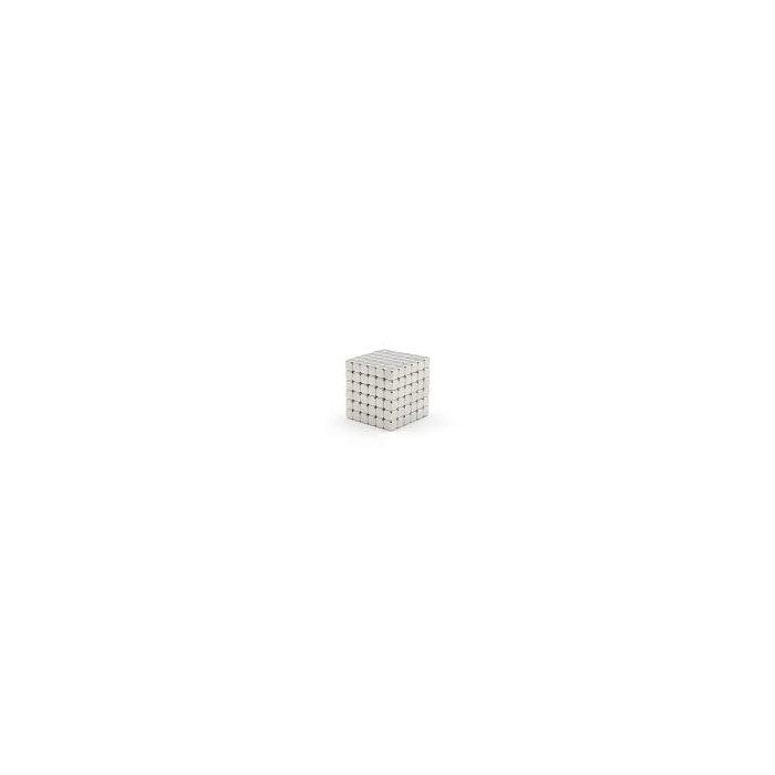 6x6x6 mm Neodym Magnet N50, vernickelt