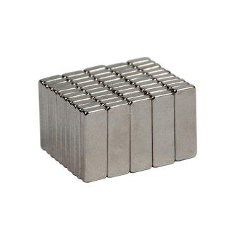 14x4x2,5 mm Neodym Magnet N50, vernickelt